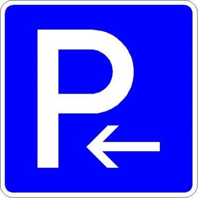 Richtzeichen Parkplatz (Anfang) 314-10