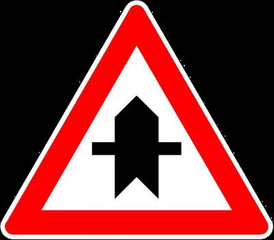 Richtzeichen Vorfahrt 301