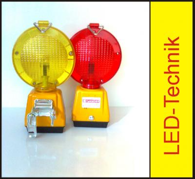 LED Baustellenlampe Batteriewarnleuchte Monolight