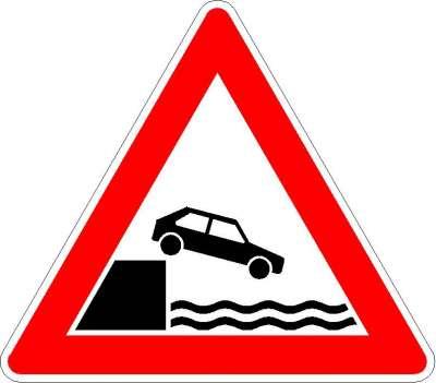 Gefahrzeichen Ufer 101-53