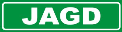 Magnetschild Jagd
