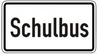 Warn/Hinweisschild Schulbus W10