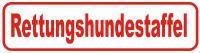 Magnetschild Rettungshundestaffel