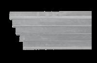 Schaftrohr feuerverzinkter Stahl
