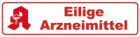Magnetschild Eilige Arzneimittel mit Apotheken Logo